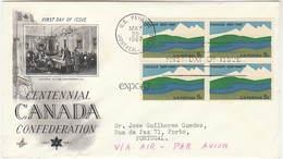 Cover FDC * Canada * 1967 - Ersttagsbelege (FDC)