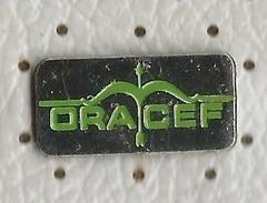 ORACEF - Pharmaceutics.medical Pin.bow And Arrow - Médical