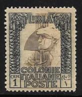 Libya, Scott #20d Mint Hinged Roman Legionary, Perf 14 By 13 1/4, 1921 - Libya