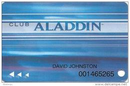 Aladdin Casino Las Vegas, NV - Slot Card - Casino Cards