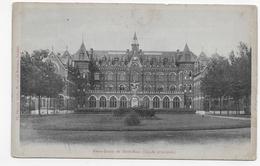 (RECTO / VERSO) NOTRE DAME DU HAUT MONT EN 1908 - FACADE PRINCIPALE - BEAU CACHET - CPA VOYAGEE - Frankreich
