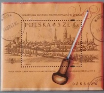 Poland 2001 Buildings Ss Used - Used Stamps