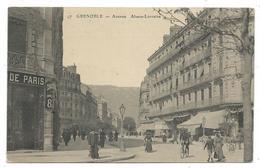 CPA - GRENOBLE, AVENUE ALSACE LORRAINE - Isère 38 - Animée - Grenoble