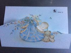 Carte 3 Volets Pour Annonce Ou Félicitations De Naissance - Nascite