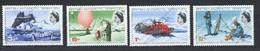British Antarctic Territory, Yvert 21/24, Scott 20/23, SG 20/23 MNH - Territoire Antarctique Britannique  (BAT)