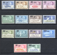 British Antarctic Territory, Yvert 25/38, Scott 25/38, SG 24/37, MNH - Territoire Antarctique Britannique  (BAT)