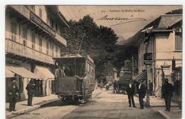 BRIDES-LES-BAINS - 913 -  Intérieur De La Ville - PLAN ANIME TRAMWAY -  RARE - BE - Brides Les Bains