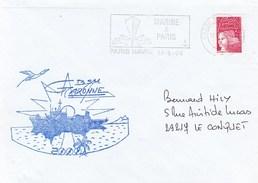 BSM GARONNE 2000  PARIS NAVAL  15/5/2000 - Marcophilie (Lettres)
