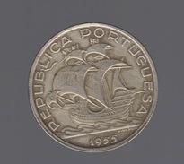 Argent 1954 Republica Portuguesa Portugal 10 Escudos - Portugal