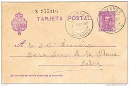 23016. TC 0139. Entero Postal POLLENSA (Baleares) 1930. Alfonso XIII. Num 57naa - Enteros Postales