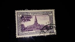 LAOS : 1951 Timbres N°7 Oblitérés - Laos