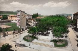 CPA - Jaca - Escalinata - Paseo Y Gran Hotel - Espagne
