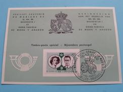 Souvenir / Herinnering - Huwelijk / Mariage BAUDOUIN Et FABIOLA 13-12-1960 Brussel ( Zie Foto´s Voor Details ) - Belgique