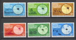 Territoire Antarctique Britannique, Yvert 108/113**, Scott 86/91**, SG 103/108**, MNH - Britisches Antarktis-Territorium  (BAT)