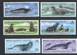 Territoire Antarctique Britannique, Yvert 119/123**, Scott 96/101**, SG 113/118**, MNH - Britisches Antarktis-Territorium  (BAT)