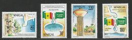 1990 Senegal Rural Water Supply Flags  Complete Set Of 4 MNH - Senegal (1960-...)