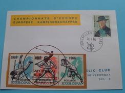 CHAMPIONNATS D'EUROPE / EUROPESE KAMPIOENSCHAPPEN 30-8-66 ( BUDAPEST Atlétikai ) Vleurgat ( Zie Foto´s Voor Details ) - Belgique