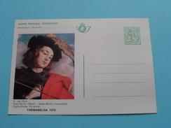 CP Themabelga 1975 / A. Van Dyck ( Zie Foto´s Voor Details ) - Belgique