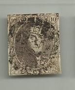 (54) Timbre Belgique Roi Léopold I Médaillon 10c