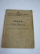 MUSIC SCHOOL Report Of Famous Composer In Yugoslavia, 1947, Subotica (Szabadka) - Diploma & School Reports