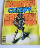 ROBOTS CREEPY -  FEBBRAIO 1979 (40117) - Libri, Riviste, Fumetti