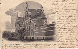 Souvenir De Mons - La Caserne De La Cavalerie -  Entrée - 1901 - Casernes