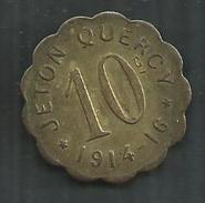 Jeton Quercy 10 - Monétaires / De Nécessité