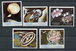 Sharjah * Michel N° 1000A à 1004A - Exploration De Nos Systèmes Planétaires - Sharjah