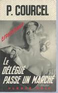 """FLEUVE NOIR ESPIONNAGE  - N° 1127  """" LE DELEGUE PASSE UN MARCHE """" - P. COURCEL - Fleuve Noir"""