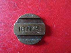 JETON METAL TELEFONO - Professionnels / De Société