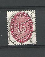 1929 / 1934  N° 91  FILIG B ?.12.30  OBLITÉRÉ - Service