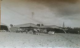 HONDSCHOOTE AVIATION ESCADRILLE C74 CAUDRON 1917 Et 1918 9 Photos Originales Les Trois Rois - Unclassified