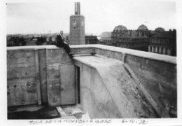LE HAVRE (76)   3 PHOTOS  PRISES SUR LE TOIT DE LA NOUVELLE GARE DU HAVRE - 18 SEPTEMBRE 1932 (René Havard) - Lieux
