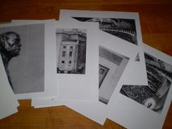 Coffret De 17 Photos De Carol Marc Lavrillier, Théâtre Des Champs Elysées, De La Naissance à La Rénovation.10 P.de Texte - Albumes & Colecciones