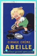CIRAGE CREME - ABEILLE - LE MEILLEUR GARANTI SANS ACIDE - CIRCULEE EN 1926 - Werbepostkarten