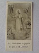 D965 - Santino Holy Card S.Pio X Pastore Buono E Vigilante - Images Religieuses