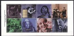 1996 Finnland, 1337/44, MH 42,  100 Jahre Finnischer Film,  MNH **, Booklet - Ongebruikt
