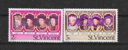ST. Vincent 1977  Scot  Nr° 486,487(**) - St.Vincent (1979-...)