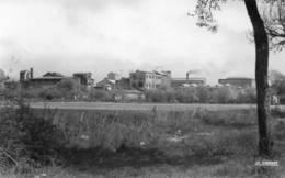 CPSM Dentelée - ERSTEIN (67) - Aspect De La Sucrerie Dans Les Années 50 - Autres Communes