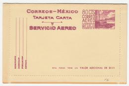 Mexico Old Postal Stationery Letter Card Tarjeta Carta Unused Bb170125 - Mexico