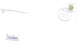 2017. Kazakhstan, The Letter Sent By Registered  Post To Moldova - Korea, North