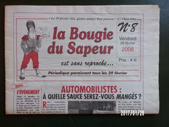La Bougie Du Sapeur N°8 - 2008 - Newspapers