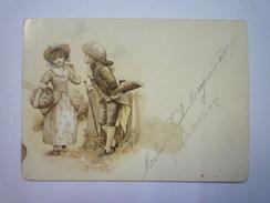 Très Joli  MENU  1895  XXXX - Menus