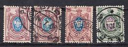 RUSSIA MICHEL 56,57 CANCELLED - 1857-1916 Empire
