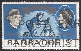 Barbados, 3 C. 1968, Sc # 306, Used. - Barbados (1966-...)