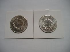 50 Francs Hercule 1976 & 1977 Superbe état - France
