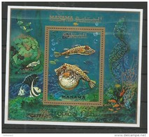 MANAMA - MNH - Animals - Fishes - Tropical Fish - Fishes