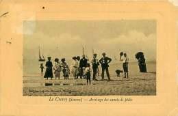 80 - 260117 - LE CROTOY - Arrivage Des Canots De Pêche - Voilier - Le Crotoy