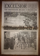 Excelsior 2927 24/11/1918 Les Souverains Belges à Bruxelles (le Défilé Des Cyclistes) - La Question Religieuse En Alsace - Journaux - Quotidiens