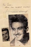 Autographe De Frank Villard - Autographs